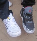 Une paire de chaussures